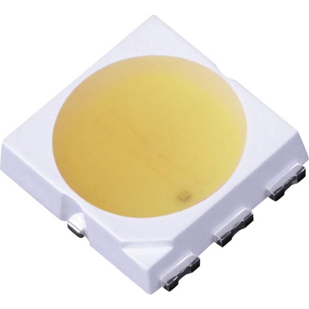 SMD-LED PLCC6 topla bela 120 ° 60 mA 2.9 V LG Innotek LEMWS52P80LZ00