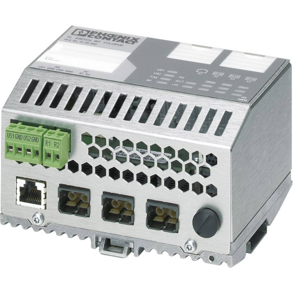 Industrijski eternetski preklopnik Phoenix Contact FL SWITCH IRT TX 3POF