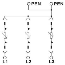 Odvodnik za prenaponsku zaštitu Phoenix Contact VAL-MS 750/30/3+0 2920269