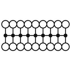 Phoenix Contact PTFIX 18X1,5-G GY 3002804 Razdjelni blok 0.14 mm² 1.50 mm² Siva 20 ST