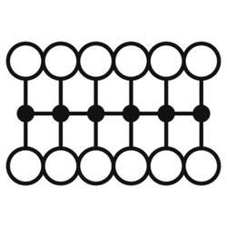 Phoenix Contact PTFIX 12X1,5-NS15A YE 3002958 Razdjelni blok 0.14 mm² 1.50 mm² Siva 20 ST