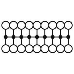 Phoenix Contact PTFIX 18X1,5-NS15A BN 3002972 Razdjelni blok 0.14 mm² 1.50 mm² Smeđa boja 20 ST