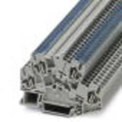 Phoenix Contact STTBS 2,5-L/N 3037805 Dvokatna stezaljka 0.08 mm² 2.50 mm² Siva 50 ST
