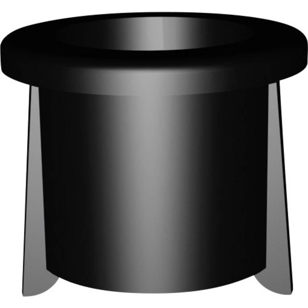 LED podnožje, umetna masa, primerno za LED 3 mm SnapIn Signal Construct DMC30