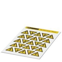 Opozorilna tabla Pozor Samolepilna folija 25 mm DIN 61010-1 1 KOS