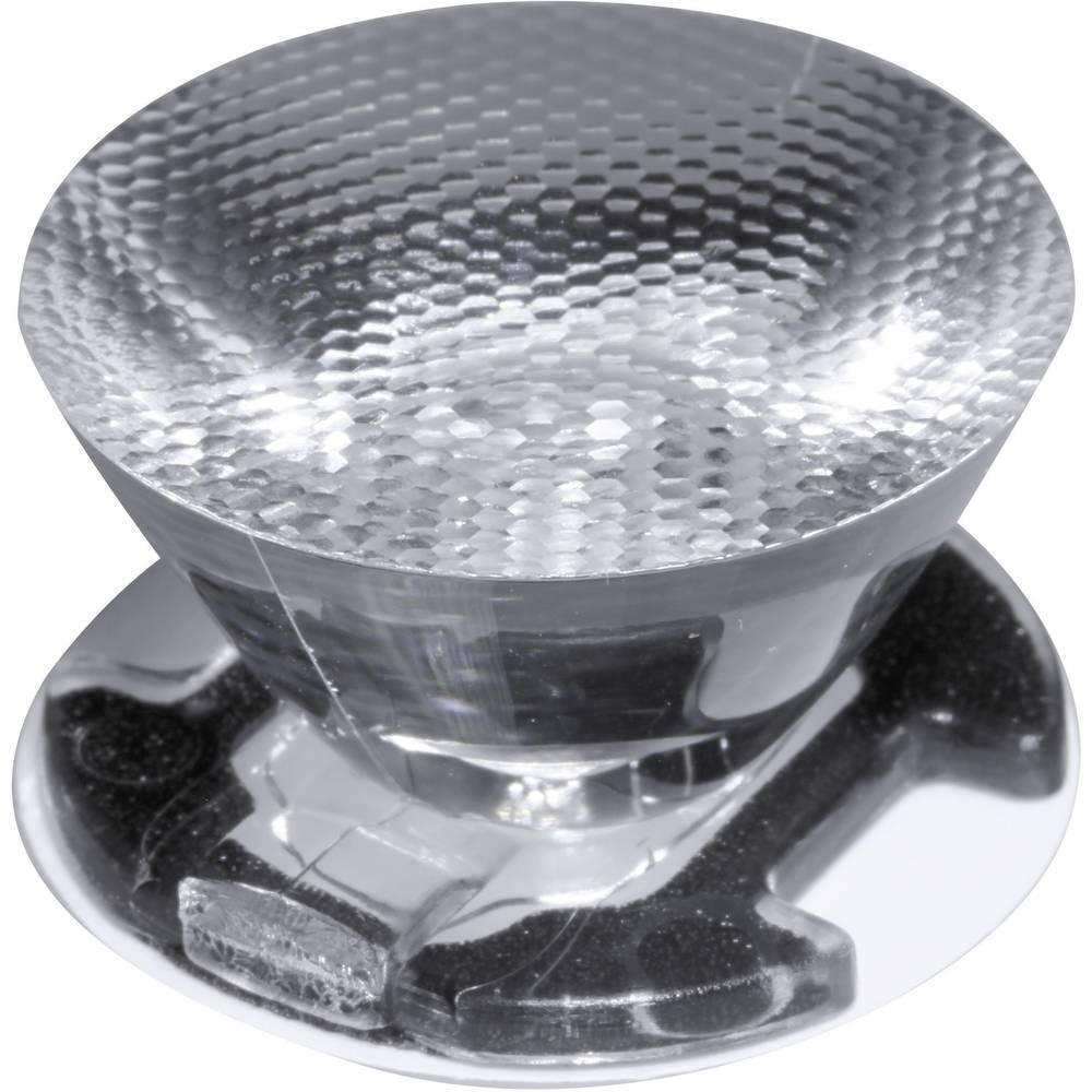 LED optika, čista, rebrasta prozorna 10 ° št. LED diod (maks.): 1 za LED: Seoul Semiconductor® Z5 Ledil CA11387_EMILY-SS