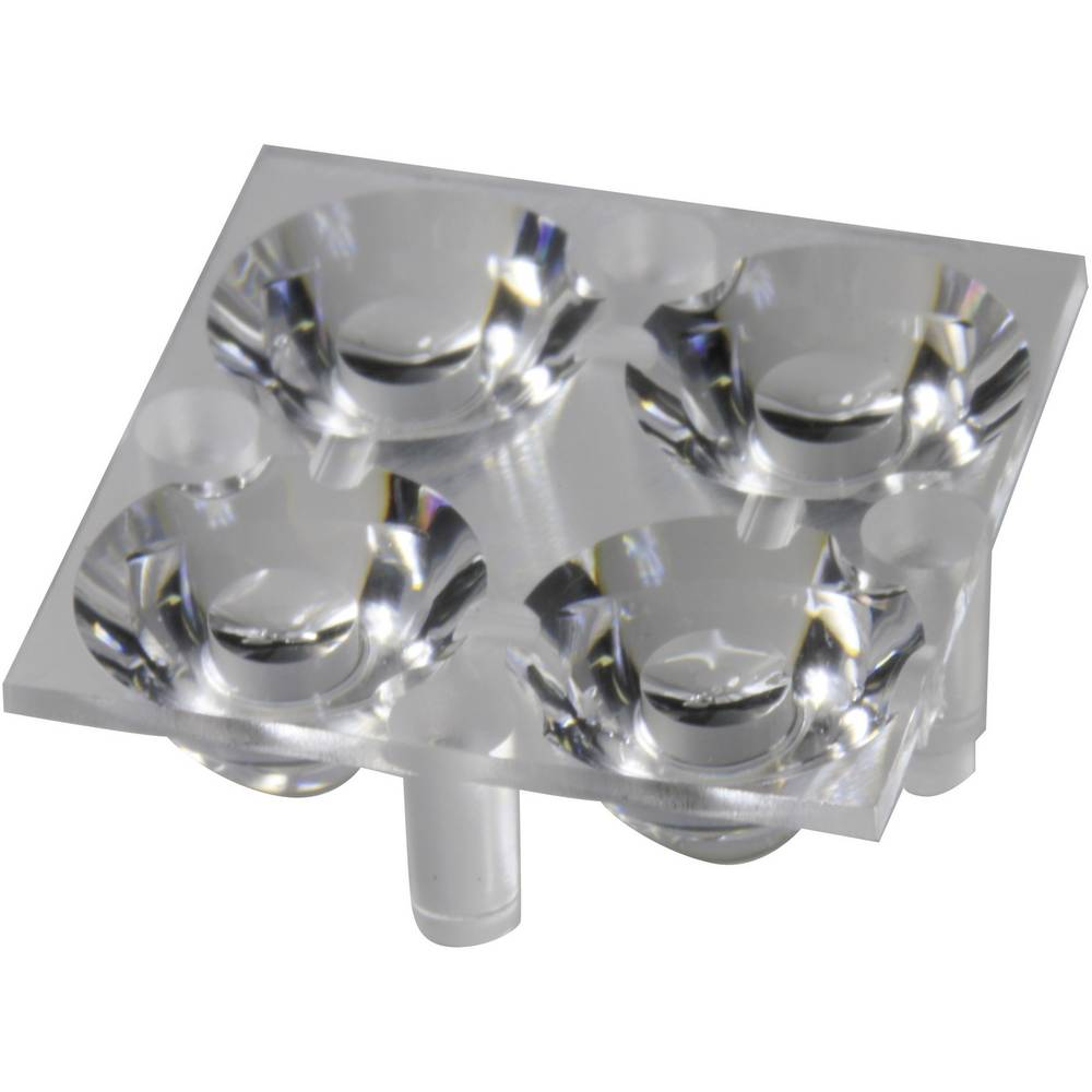 LED-optik Klar Transparent 17.1 ° Antal LED (max.): 4 Til LED: Luxeon® Rebel eller Seoul Semiconductor® Z5 Carclo 10611