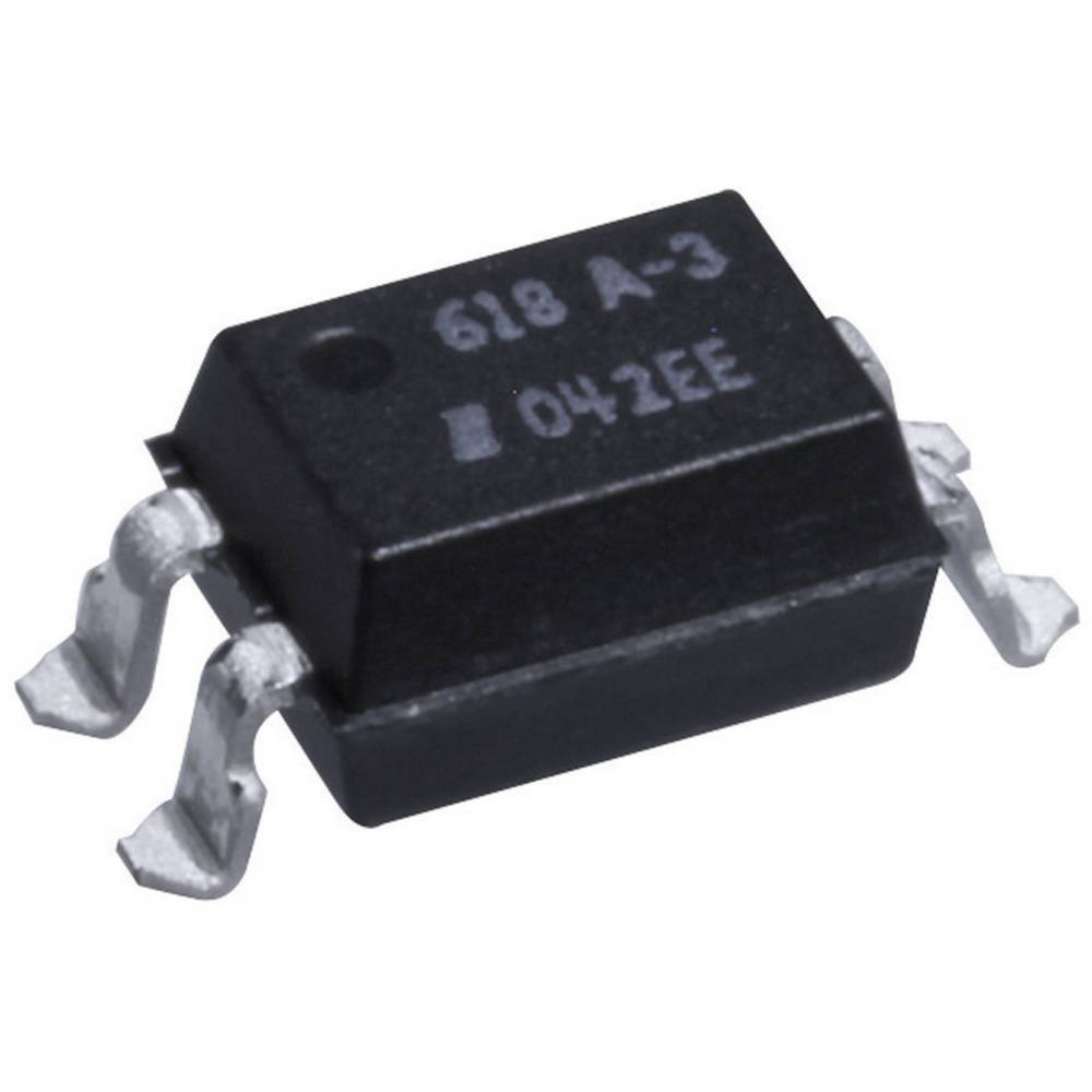 Isocom Components SFH618A-3XSM-Optospojnik, kućište: DIL 4, SMD, fototranzistor/Single