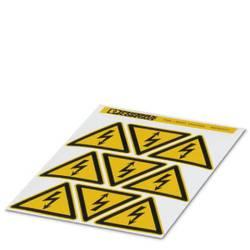 Opozorilna tabla Pozor Samolepilna folija 50 mm DIN 61010-1 1 KOS