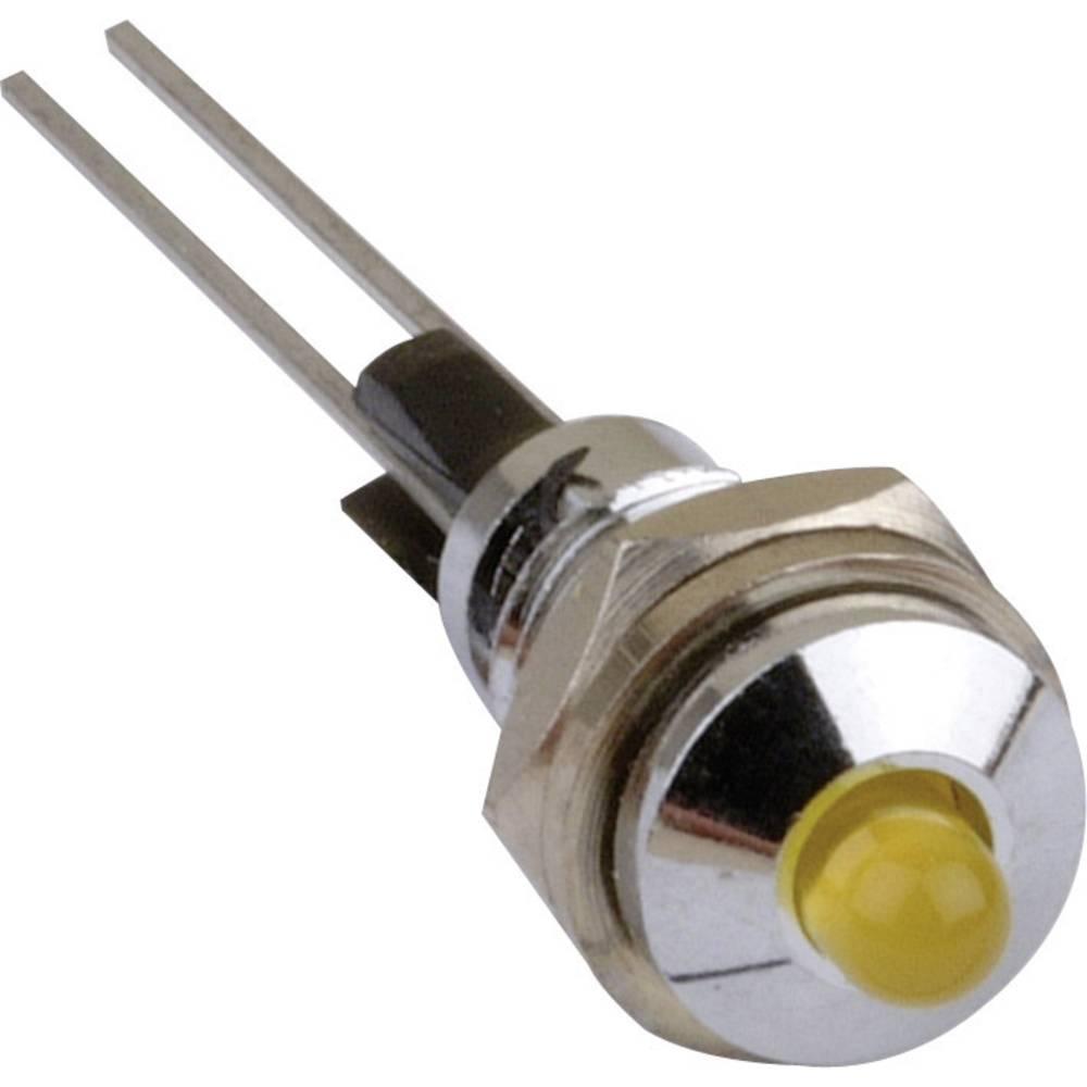 LED signalno svjetlo, crveno 2.25 V 20 mA Mentor 2665.8021
