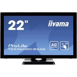 Iiyama ProLite T2236MSC-B2AG monitor z zaslonom na dotik EEK: B (A+ - F) 54.6 cm(21.5 palec)1920 x 1080 piksel 16:9 8 ms VGA, US