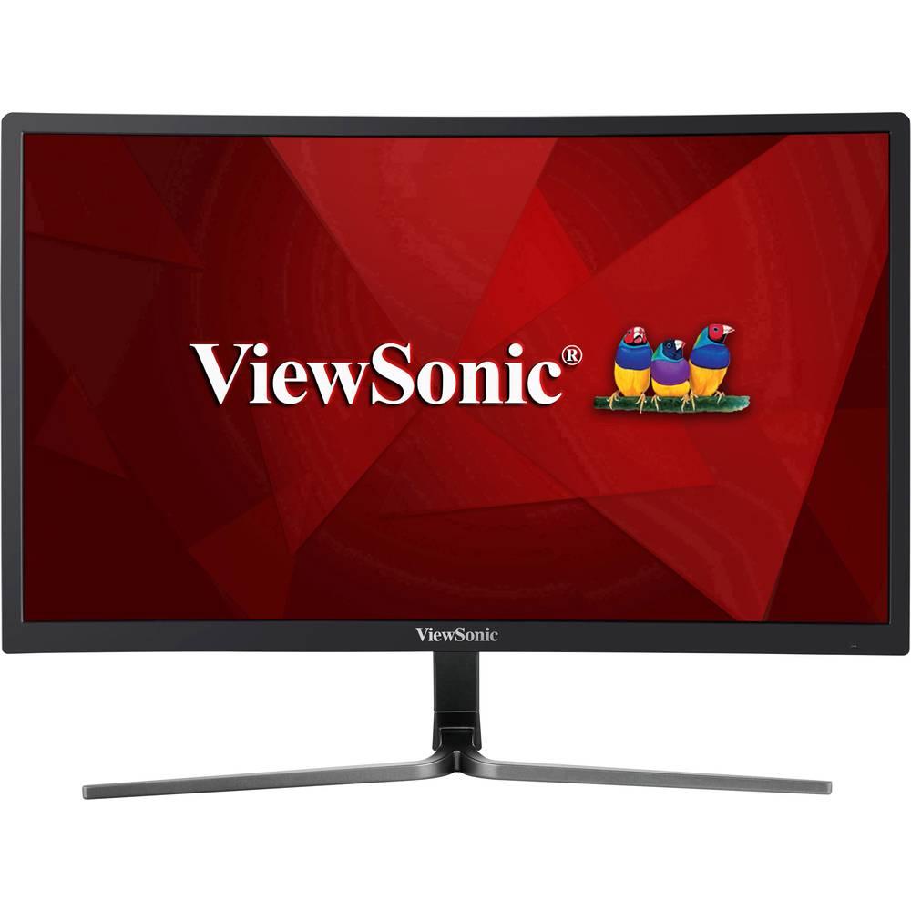 Viewsonic VX2458-C-MHD monitor 61 cm (24 palec) EEK B (A+++ - D) 1920 x 1080 piksel Full HD 1 ms HDMI®, DisplayPort, DVI, sl/Računalniki in pisarna/Conrad.si