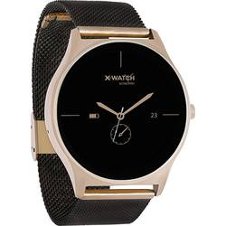 X-WATCH JOLI XW PRO black / gold pametna ura črna