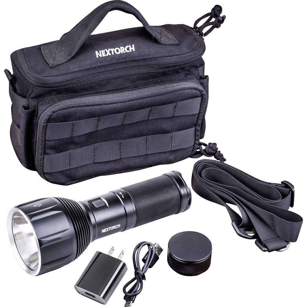 Nextorch Saint Torch 11 led žepna svetilka z USB vmesnikom, nastavljiva velikost točke akumulatorsko 3500 lm 110 h 790 g
