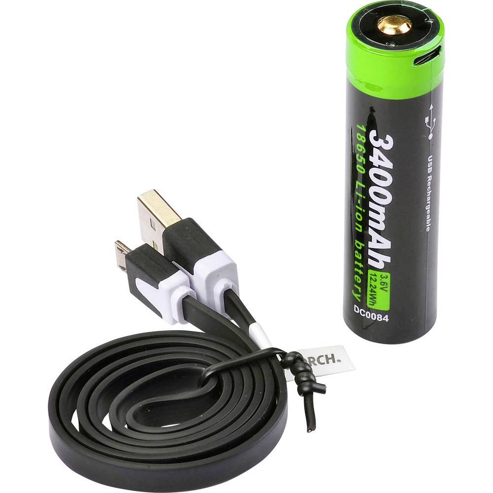 Rezervni akumulator Nextorch 18650USB3400