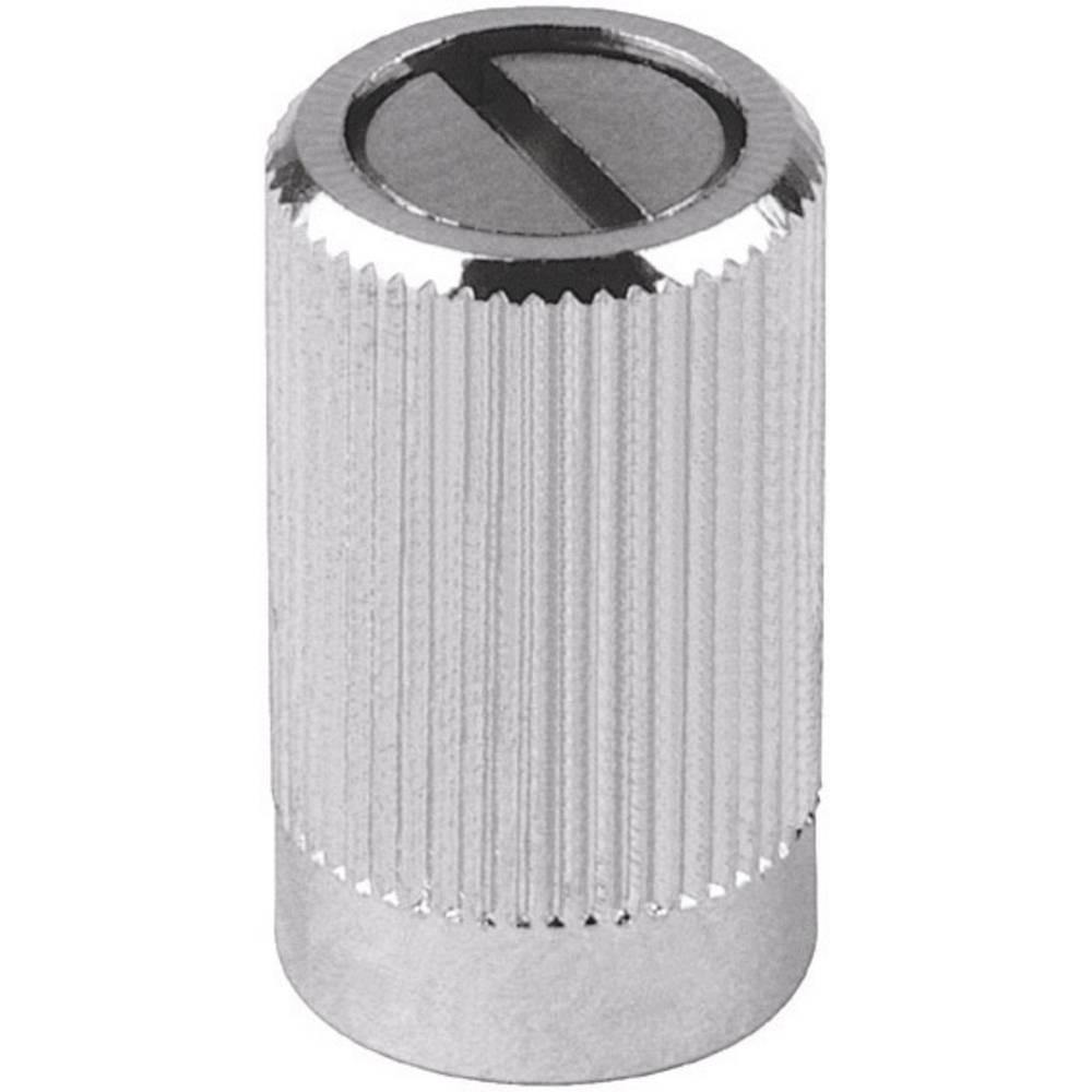Mentor Gumb za mjerni uređaj Krom promjer osi 4mm 487.4