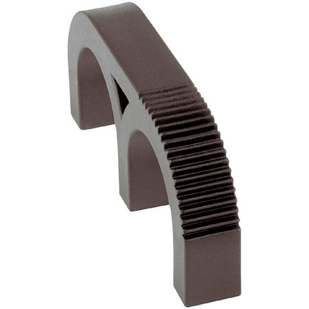 Mentor ručka od umjetne mase 3210.2003 (ŠxVxG) 63.5 x 9.5 x27 mm poliamid crna