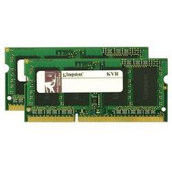 Kingston Notebook pomnilniški komplet KVR13S9S8K2/8 8 GB 2 x 4 GB DDR3-RAM 1333 MHz CL9