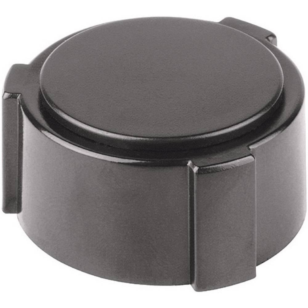 Mentor Poklopci crna, 20mm 4132.063