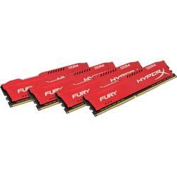 Kingston pc pomnilniški komplet Fury HX424C15FR2K4/32 32 GB 4 x 8 GB ddr4-ram 2400 MHz CL15