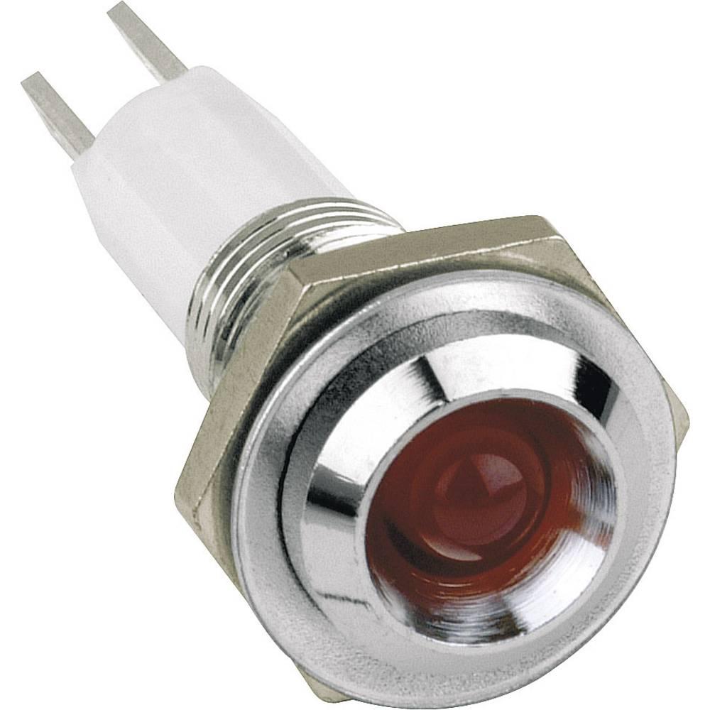 LED signalno svjetlo, crveno 2.25 V 20 mA Mentor 2658.8021