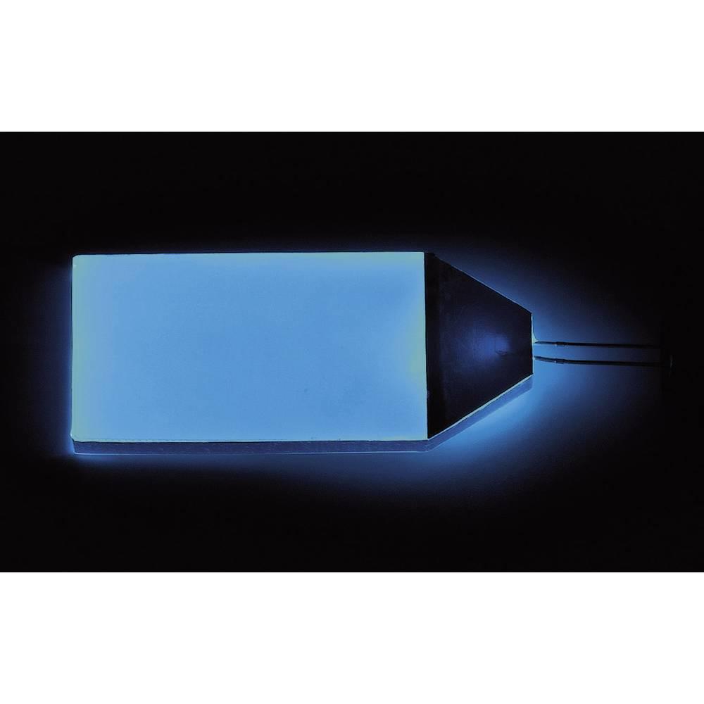 LED-baggrundsbelysning Blå (L x B x H) 66 x 32 x 3.5 mm LP-66-32-BE