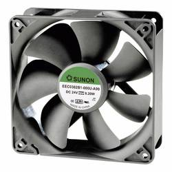 Aksialni ventilator 12 V/DC 234.46 m/h (D x Š x V) 120 x 120 x 38 mm Sunon EEC0381B1-000U-A99