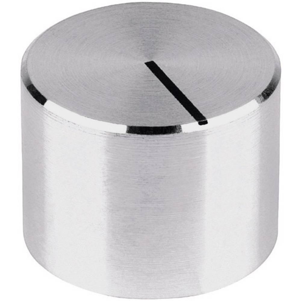 Mentor Gumb za mjerni uređaj gladak aluminij promjer osi 6mm 522.6191