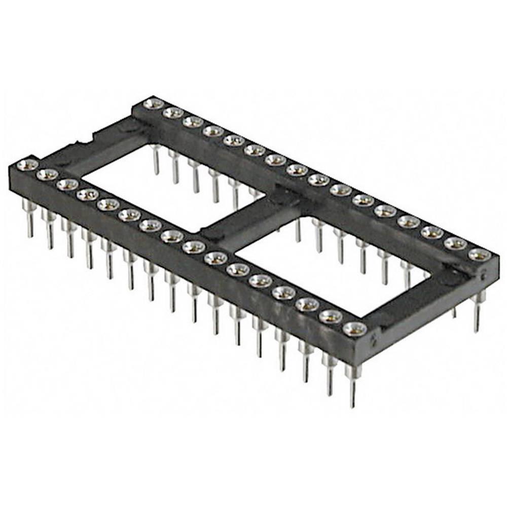 IC podnožje, raster: 15.24 mm št. polov: 24 TRU Components AR 24 HZL-TT natančni kontakti 1 kos