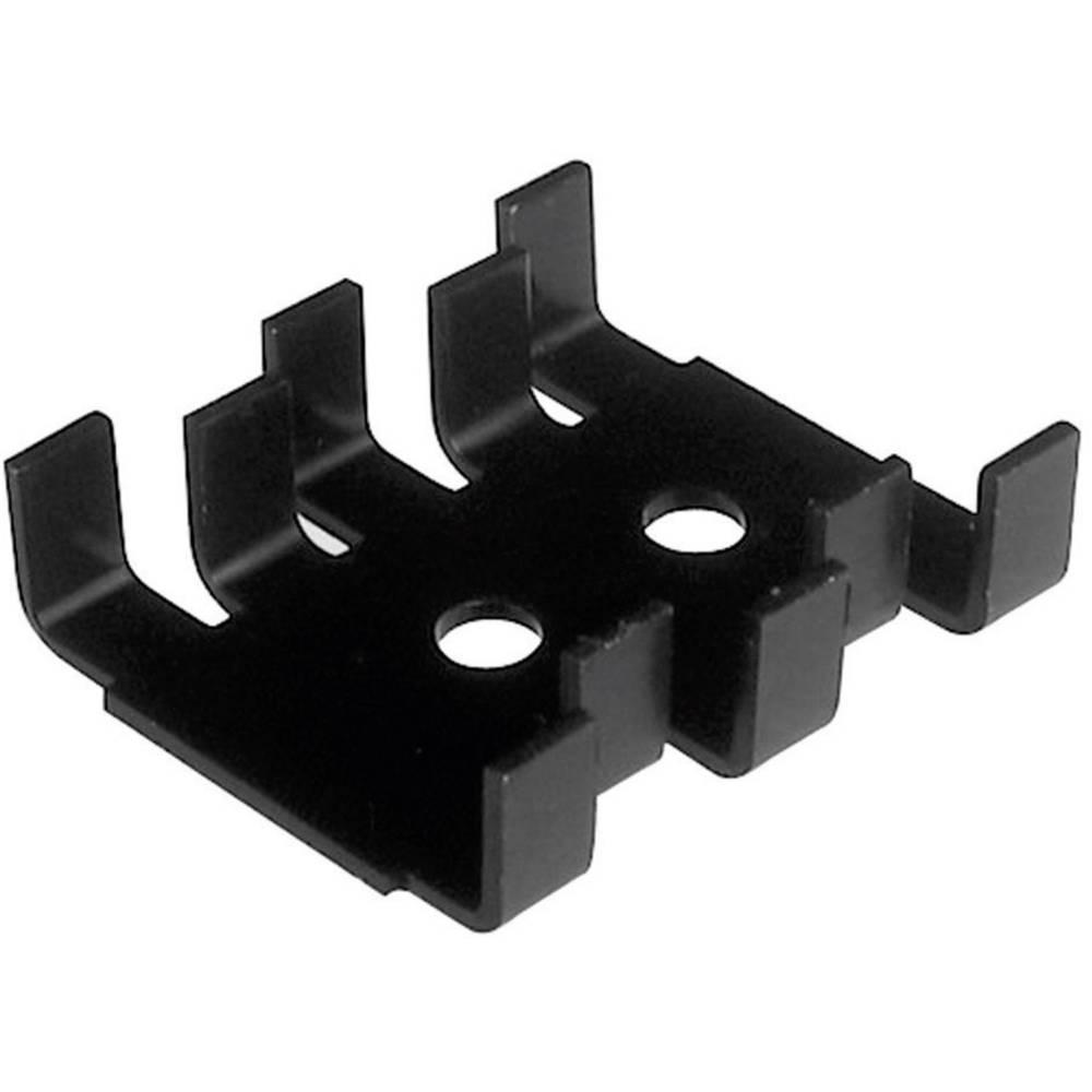 Hladilno telo s sponko za tranzistor 18 K/W (D x Š x V) 30 x 25.4 x 7.9 mm TO-220, SOT-32 ASSMANN WSW V5236B-T