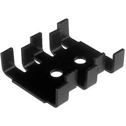 Hladilno telo s sponko za tranzistor 18 K/W (D x Š x V) 30 x 25.4 x 7.9 mm TO-220 SOT-32 TRU Components TC-V5236B-T-203