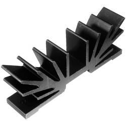 Profilno hladilno telo 5 K/W (D x Š x V) 15 x 70 x 25 mm TOP-3 TO-220 TRU Components TC-V5512W-203