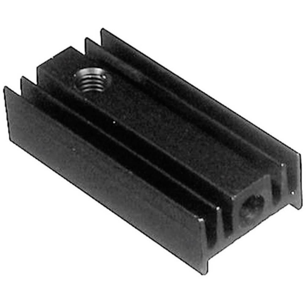 Profilkølelegeme 40 K/W (L x B x H) 25 x 12 x 6.5 mm TO-220 ASSMANN WSW V5629G