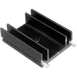 Profilno hladilno telo 9 K/W (D x Š x V) 25 x 29 x 12 mm TO-220 TRU Components TC-V6560W-203