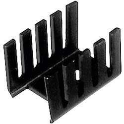 Hladilno telo 24 K/W (D x Š x V) 19.05 x 13.21 x 9.53 mm TO-220 TRU Components TC-V7236B1-203