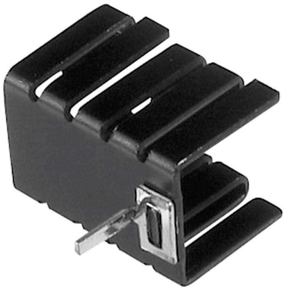 Hladilno telo 21 K/W (D x Š x V) 19 x 12.8 x 12.7 mm TO-220 TRU Components TC-V8508C-203