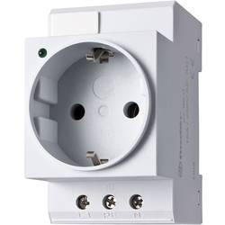 Finder 07.99.00-Vtičnica za stikalno omaro, DIN-letev montaža, LED-prikaz stanja