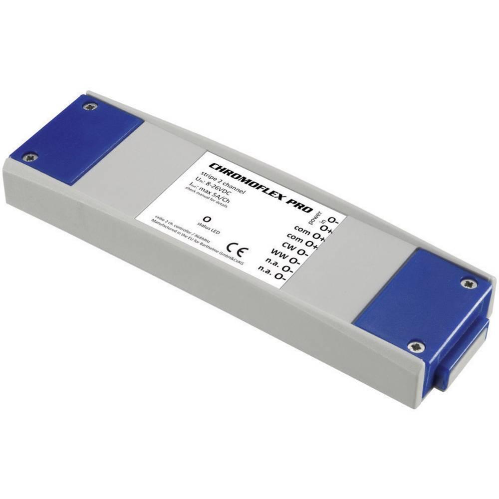 LED-zatemnilnik Barthelme CHROMOFLEX Pro stripe 2-Kanala 240 W 868.3 MHz 50 m 180 mm 52 mm 22 mm