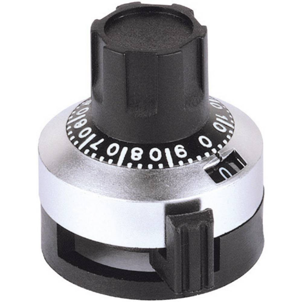 ANALOGNI GUMB 6,35mm MAT-Kromiran Mentor 6623.1000