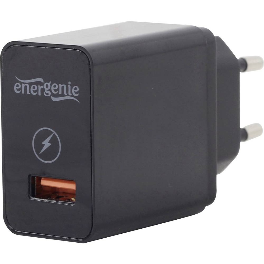 Energenie Pure-Power EG-UQC3-01 USB napajalnik Vtičnica Izhodni tok maks. 3000 mA 1 x Ženski konektor USB 3.0 tipa A Qualcomm Qu