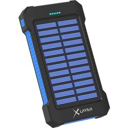 Solarni polnilnik Xlayer Powerbank Plus 215869 Polnilni tok (maks.) 150 mA Kapacitivnost (mAh, Ah) 8000 mAh
