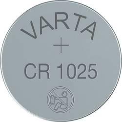 Gumbna baterija CR 1025 litijeva Varta Electronics CR1025 25 mAh 3 V 1 kos