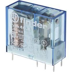 Finder 40.61.9.012.4000 Rele za tiskano vezje 12 V/DC 16 A 1 menjalo 1 KOS