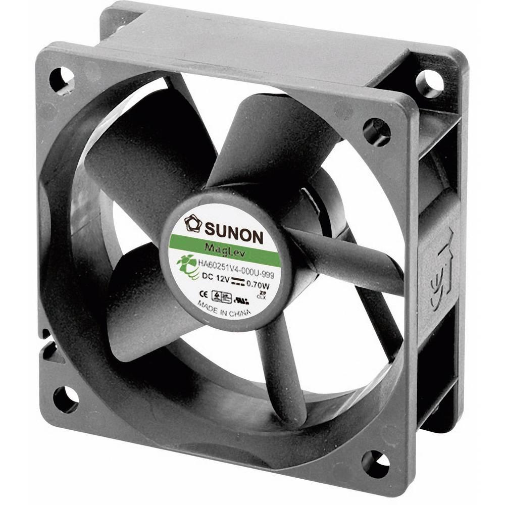 Aksialni ventilator 12 V/DC 23.44 m/h (D x Š x V) 60 x 60 x 25 mm Sunon HA60251V4-0000-999