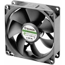 Aksialni ventilator 12 V/DC 40.26 m/h (D x Š x V) 80 x 80 x 25 mm Sunon HA80251V4-0000-999