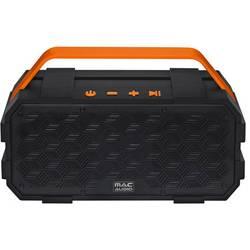 Mac Audio BT Wild 801 Bluetooth® zvočnik AUX, Zaščita pred pršečo vodo Črna, Oranžna