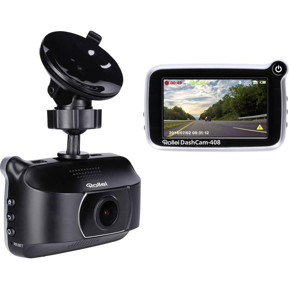 Rollei CarDVR-408 Avtomobilska kamera z GPS-sistemom Zaslon, Mikrofon