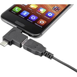 USB 3.1 (Gen 1) Adapter [1x Moški konektor USB-C™, Moški konektor USB 2.0 tipa Micro B - 1x Ženski konektor USB 3.1 tipa A