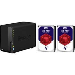Synology DiskStation DS218+-8TB-RED nas strežnik 8 TB 2 Bay opremljen z 2x 4tb wd red