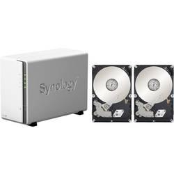 Synology DiskStation DS218j-4TB-BC nas strežnik 4 TB 2 Bay opremljen z 2x 2tb